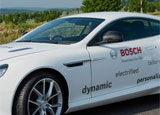 The Aston Martin DB9 Plug-In Hybrid made in collaboration with Bosch Engineering