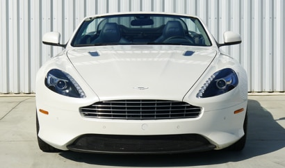 The Aston Martin DB9 Volante, one of GAYOT's Top 10 Romantic Cars
