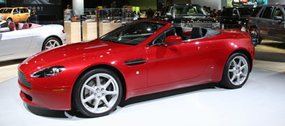 The Aston Martin V8 Vantage at the 2006 LA Auto Show