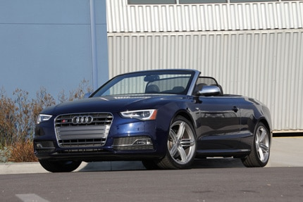 The Audi S5 Cabriolet, previously one of GAYOT's Top 10 Convertibles