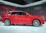 The Audi A3 e-Tron at the 2013 LA Auto Show