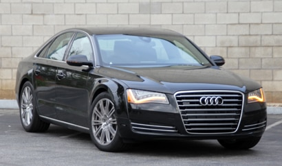 The Audi A8L, one of GAYOT's Top 10 Luxury Sedans
