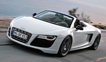 The Audi R8, one of GAYOT's Top 10 Exotic Sports Cars