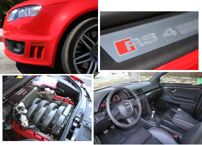 A closer look at the 2007 Audi RS 4