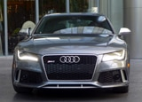 A front view of the 2014 Audi RS 7 quattro Tiptronic