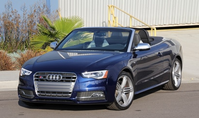 The 2014 Audi S5 Cabriolet quattro S tronic, GAYOT's February 2015 Car of the Month