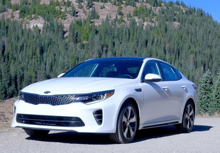 The all-new Kia Optima 2.0T SX takes home the 'International Car Of The Year' Award at the 2015 LA Auto Show