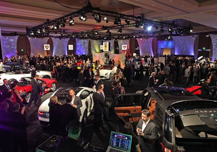 Thousands gather at Detroit's Cobo Center for the 2016 North American International Auto Show