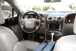 An interior view of the Bentley Continental Flying Spur