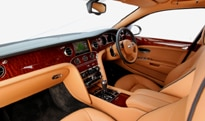 The interior of the 2011 Bentley Mulsanne