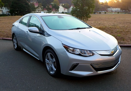 The all-new Chevrolet Volt Premier, one of GAYOT's Top 10 Best New Cars