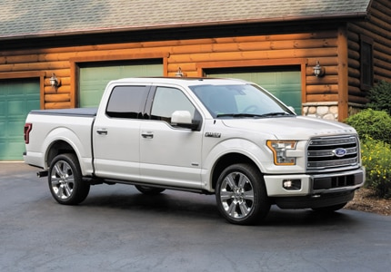 America's favorite full-size pick-up truck, the 2015 Ford F-150