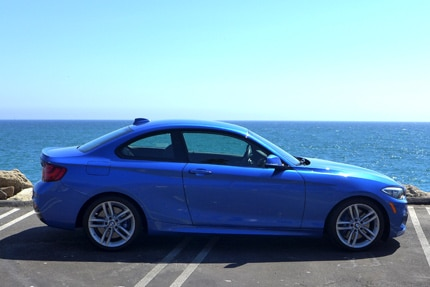 The sporty 2015 BMW 228i, GAYOT's December 2014 Car of the Month