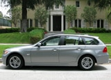 A side view of a 2008 BMW 328xi Sports Wagon