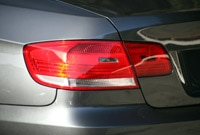 BMW 335i Coupe rear taillight