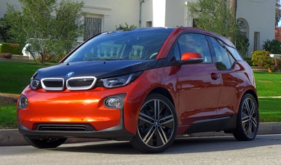 The electric 2015 BMW i3, GAYOT's January 2015 Car of the Month