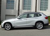 A side view of a 2013 BMW X1 xDrive28i