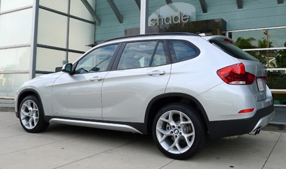 A side view of the 2013 BMW X1 xDrive28i