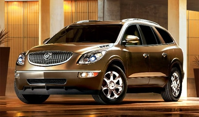 A three-quarter front view of a 2009 Buick Enclave CX