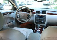 The interior of the 2006 Buick Lucerne