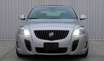 A front view of a 2012 Buick Regal Premium GS