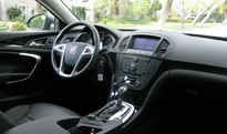 A look inside the 2011 Buick Regal CXL Turbo