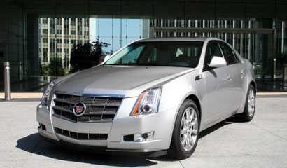Cadillac CTS V6 DI Performance Sedan Front End