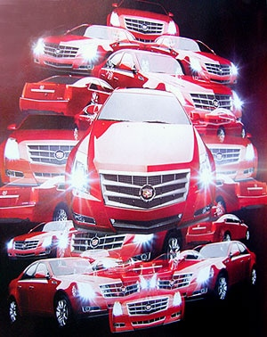 Cadillac CTS V6 DI Collage