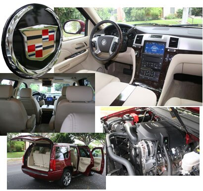 Various views of a 2007 Cadillac Escalade