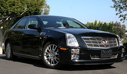 2008 Cadillac STS V6, Front View