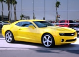 A view of a 2010 Chevrolet Camaro