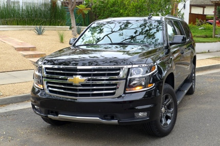 The 2015 Chevrolet Suburban 4WD 1/2 Ton LT