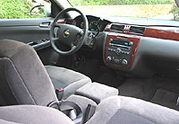 An interior view of the 2006 Chevrolet Impala LT