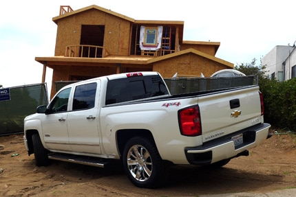 The tough and luxurious Chevy Silverado High Country, GAYOT's September 2014 Car of the Month