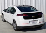 The Chevy Volt, one of our Top 10 Hybrid Cars