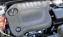 The Chrysler 200 Limited's standard 4-cylinder engine can be upgraded to a more powerful 3.6-liter V6