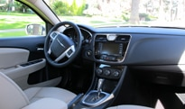 A look inside the 2011 Chrysler 200 Limited