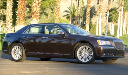 A side view of a 2012 Chrysler 300C