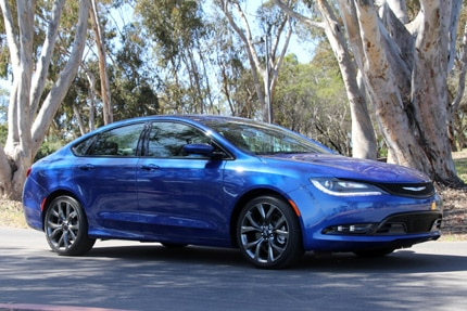 A three-quarter front view of the Chrysler 200S AWD Sedan