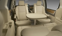 The 2010 Chrysler Town & Country's Swivel n' Go seat system