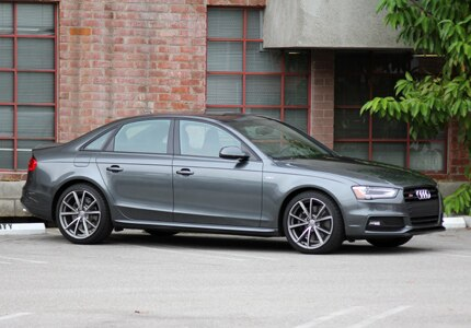 The Audi S4 quattro sedan, one of GAYOT's Top 10 City Cars