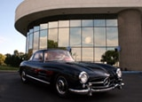 The Mercedes-Benz 300SL at the Mercedes-Benz Classic Car Center in Irvine, CA
