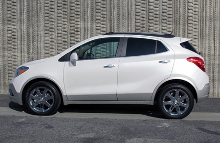 A side view of the 2013 Buick Encore