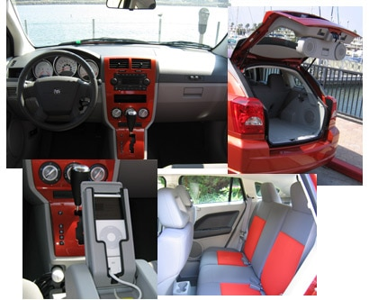 Several views of the 2006 Dodge Caliber SXT Sport