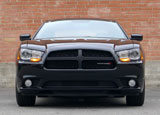 A front view of a 2013 Dodge Charger R/T AWD