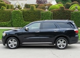 A side view of a 2011 Dodge Durango Citadel