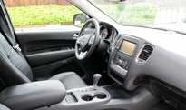 An interior view of the 2011 Dodge Durango Citadel