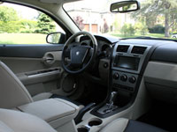 Dodge Avenger R/T Interior