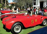 One of the cars featured at the Palm Beach Cavallino Classic