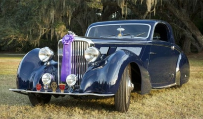 A 1938 Jagaur ss Coupe on display at the 2012 Hilton Head Island Motoring Festival